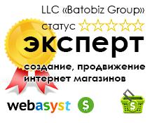 награды компании Batobiz статус эксперт в области создания и продвижения сайтов